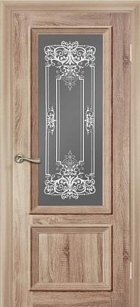 Дверь эколайн Ева До 600х2000мм дуб светлый фото