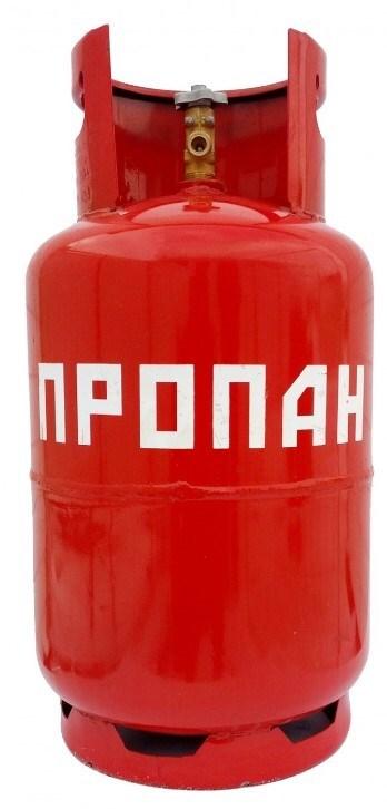 Газовый баллон 12л (Нзга) фото
