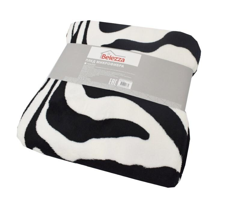 Плед микрофибра Zebra 140х200 фото