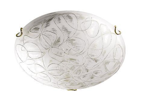 Купить Светильник Viola 265 круг d400 E27 2*100W белый/золото, Сонекс