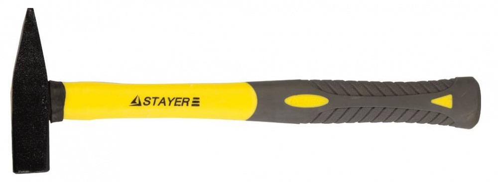 Купить со скидкой Молоток слесарный Stayer Profi 300 г кованный, фиберглас. ручка 20050-03_z01