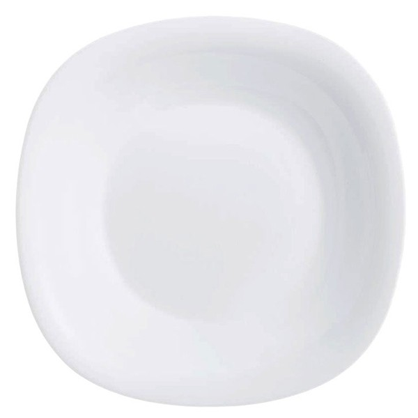 Купить Тарелка суповая 23 см Luminarc Нью Карин белая L5406/Тарелка суповая Карин белая 21 см Н3667, белый, стекло