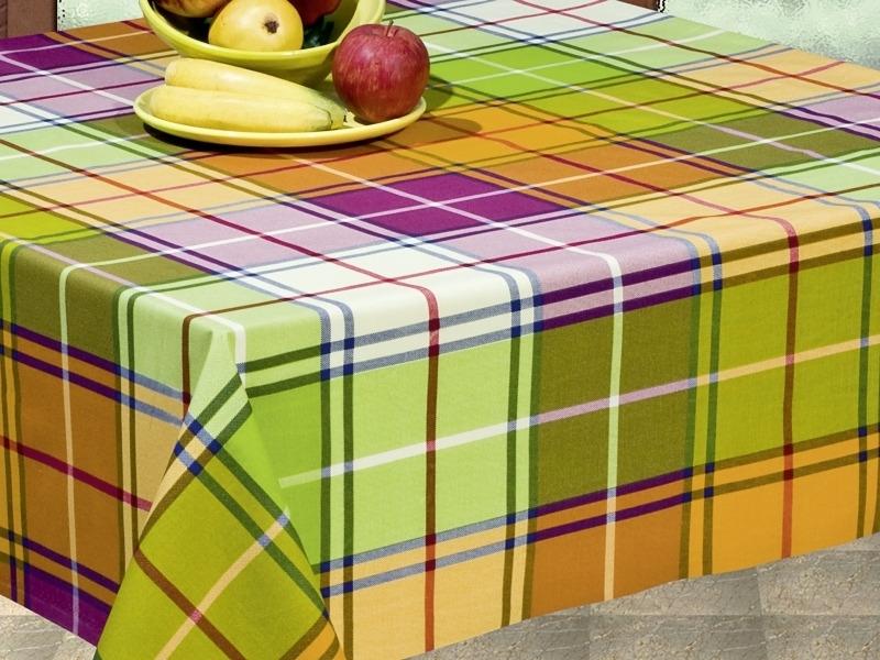 Купить Клеенка Alba Кантри зеленая 140см 0109012, Protec Textil S.l., многоцветный