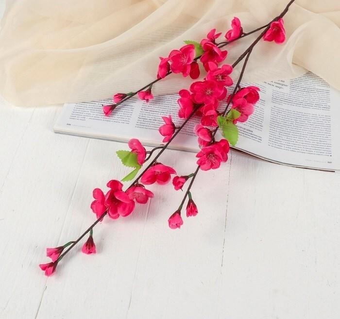 Цветок Сакура Нежность 85см. малиновый 2803572 фото