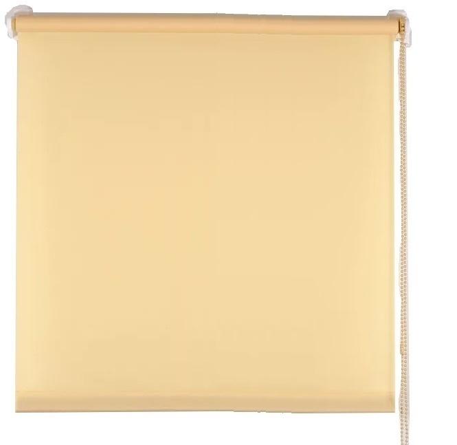 Рулонная штора 140х160 Комфортиссимо ваниль 012 фото