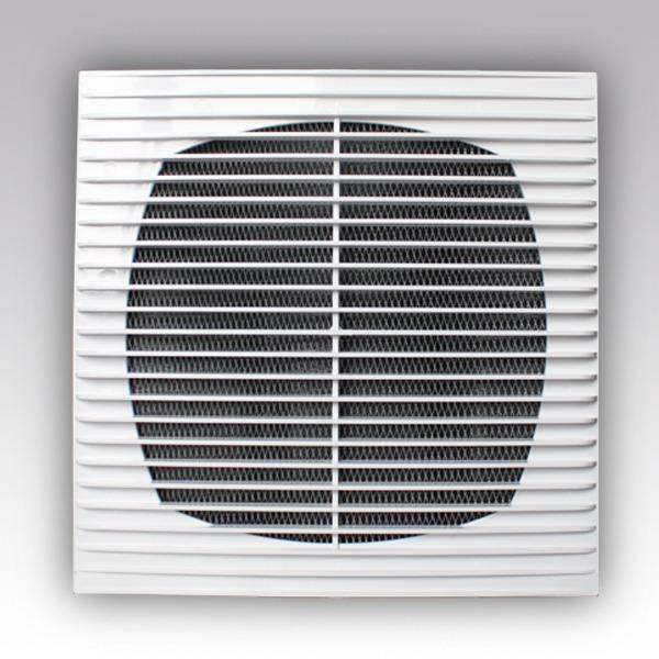 Вентиляционная решетка Г 138*138 Эра 1313Г приточно-вытяжная с сеткой