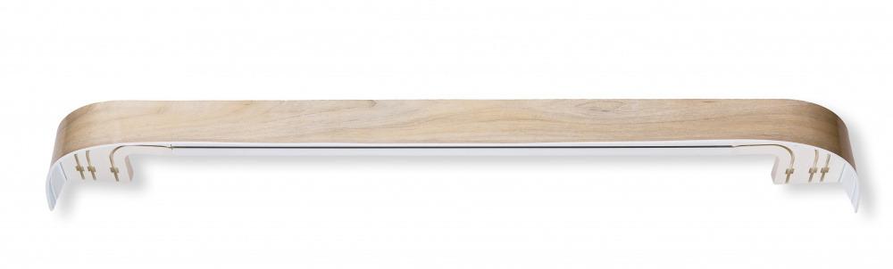 Карниз Классик 300см. 3-х рядный Дуб дымчатый фото