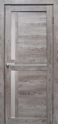 Купить со скидкой Дверь эколайн Гринвуд 4 900х2000мм серый дуб